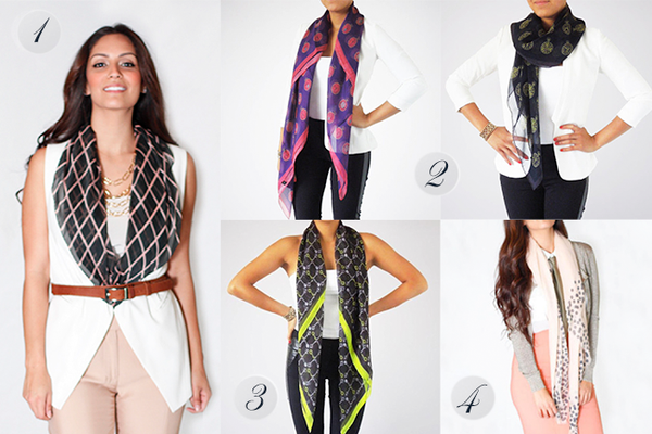 Silk Scarves by Terracotta New York featured in Holiday Gift Guide