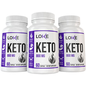 3 Bottles of Loke Keto