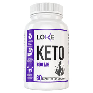 Loke Ultimate Keto Supplement Box
