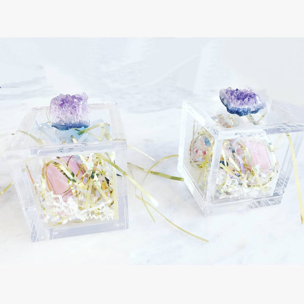 Lucite Decor Boxes