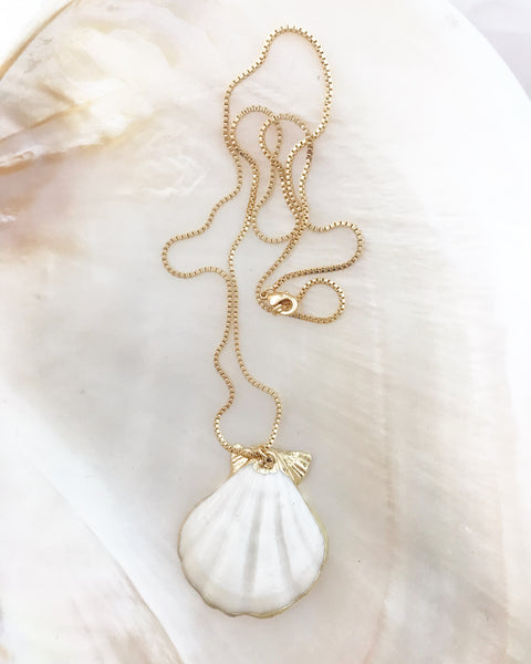 Capri Shell Necklace