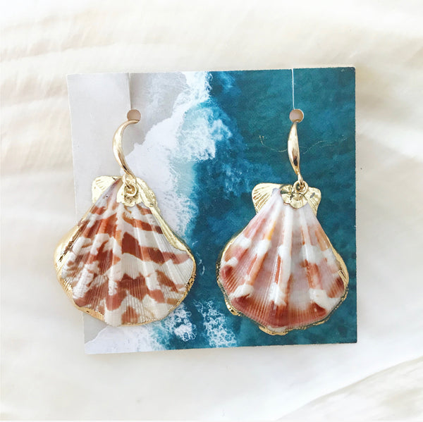 Oia Shell Earrings