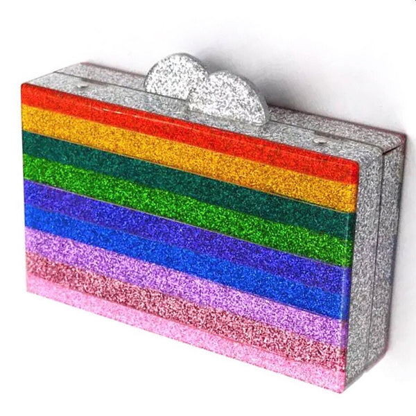 Pride Rainbow Clutch