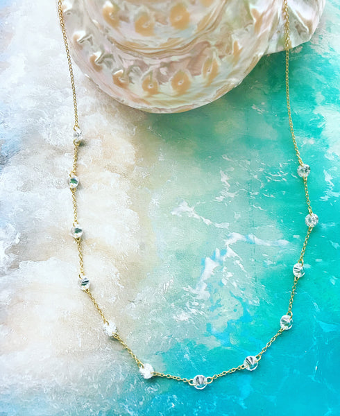 Large Floating Necklace