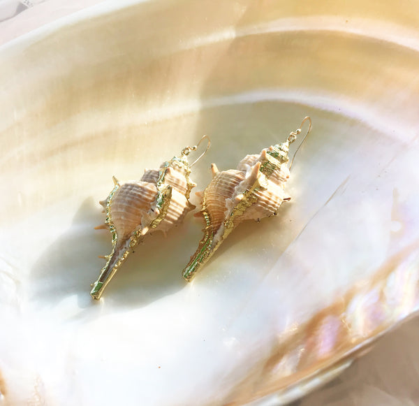 Santorini Shell Earrings