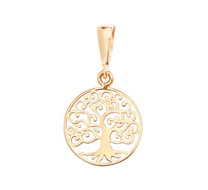 9ct Gold Tree of Life Pendant