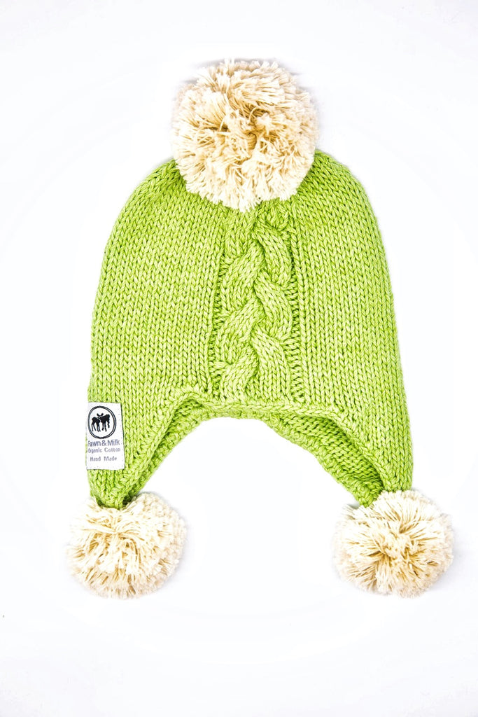 Moorland Pony Beanie - Green acre
