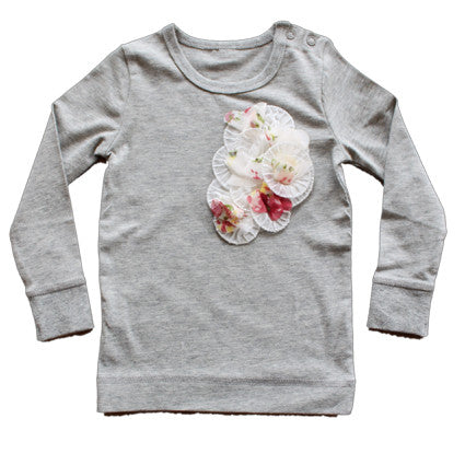Very Berry Kiss Gray Male Long Sleeved Top