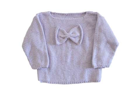 Front of House Bow Jacket Lavender