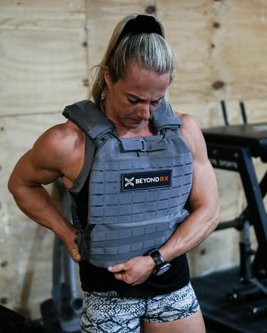 Fitness Influencer in Beyond RX Gear Vest