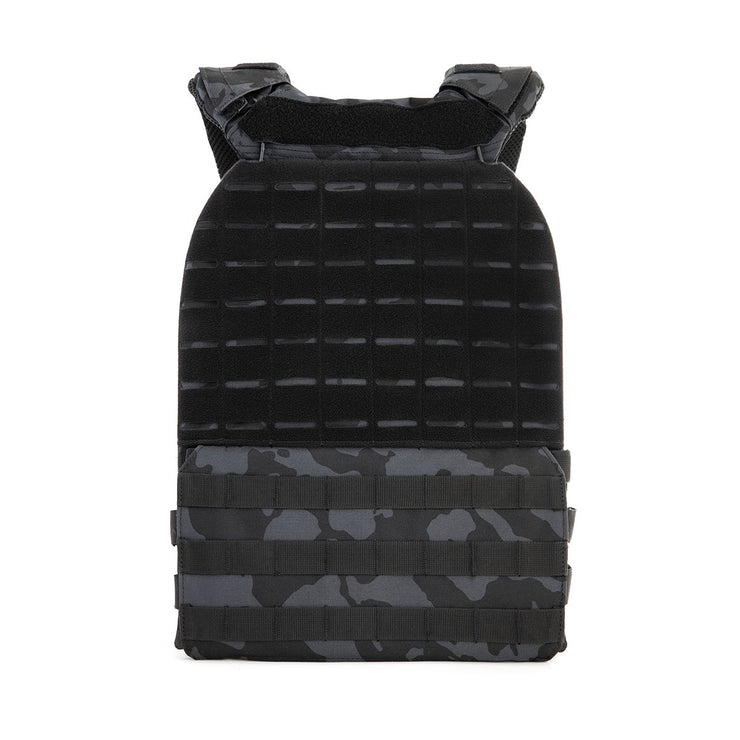 BeyondRX Weighted Vest - Black Camo
