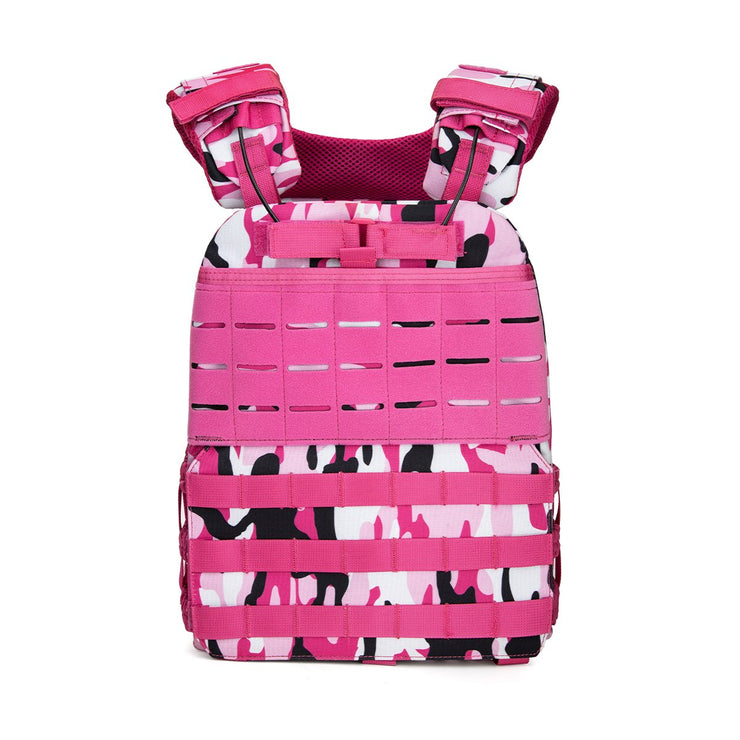 BeyondRX Weighted Vest - Multicam Pink