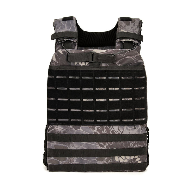 BeyondRX Weighted Vest - Stealth Grey