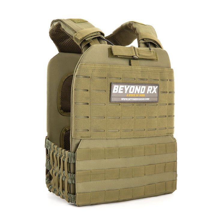 BeyondRX Weighted Vest - Green
