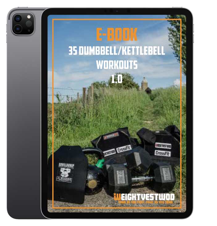 35 Dumbell and Kettlebell Workouts By WeightvestWOD