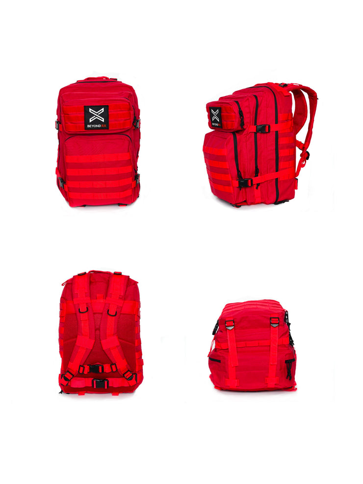 Red Tactical Backpack