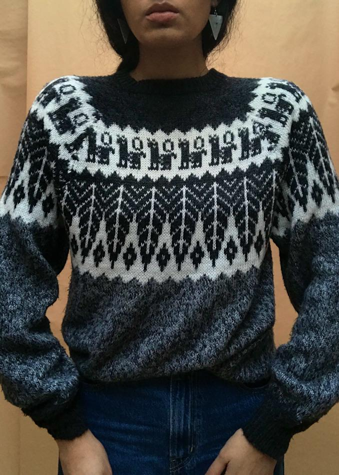 Suit of Lights Vintage Alpaca Knit Sweater 5