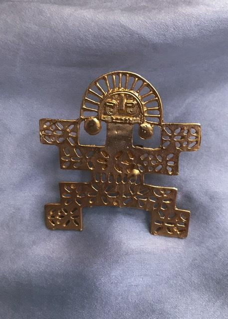 Suit of Lights Artisanal Precolombian Style Jaguar Ring 6