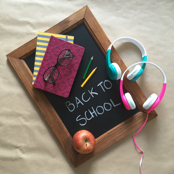 Back to School with BuddyPhones Explore