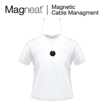 Magneat - Big Red Heart - Never your headphone cables that tangled