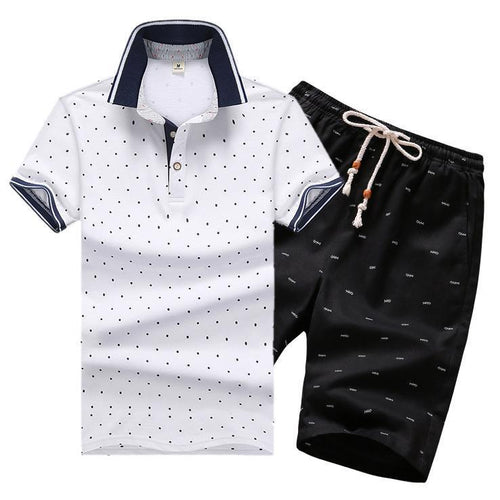 12 Colors Plus Size Men's Summer Tracksuits