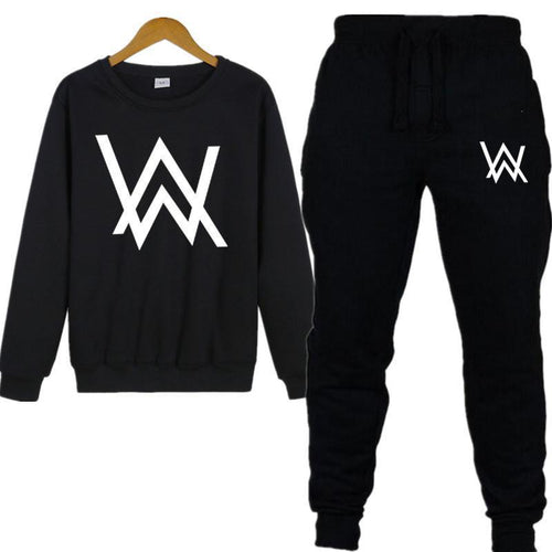AW Crew Neck Sweatshirt Suit