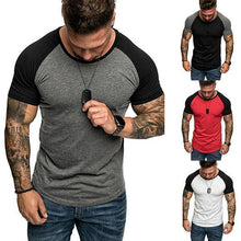 Load image into Gallery viewer, Men's Fashion Slim Raglan Sleeve T-Shirt