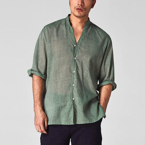 Men's Casual Thin Section Halflong Sleeve T-Shirt