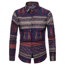 Load image into Gallery viewer, Men's Casual Fashion Printed Pattern Blouse