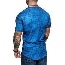 Load image into Gallery viewer, Men's Fashion Tie-Dyed Short-Sleeved T-Shirt