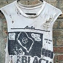 Load image into Gallery viewer, Street Vintage Printed Broken Hole Vest