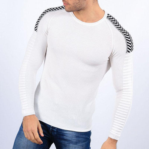 Fashion Men's Round Neck Curling Sweaters