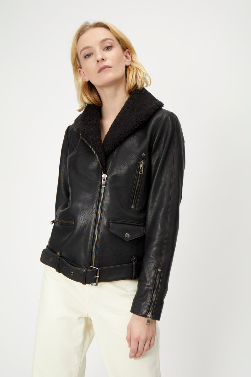 Billy leather jacket