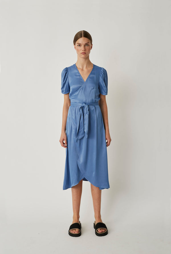 Julissa wrap dress