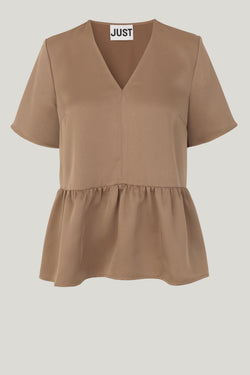 Cady v-neck blouse
