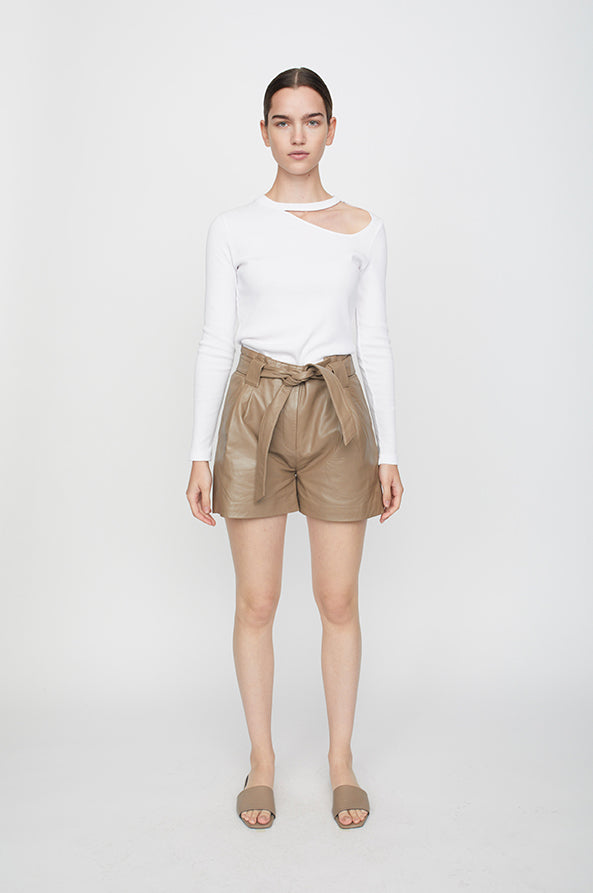 Nago leather shorts