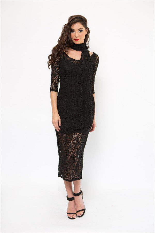 Bliss | Lace Dress Set SS5520