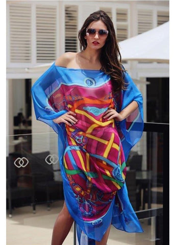 Sonia Stradiotto Couture | Long Silk Kaftan