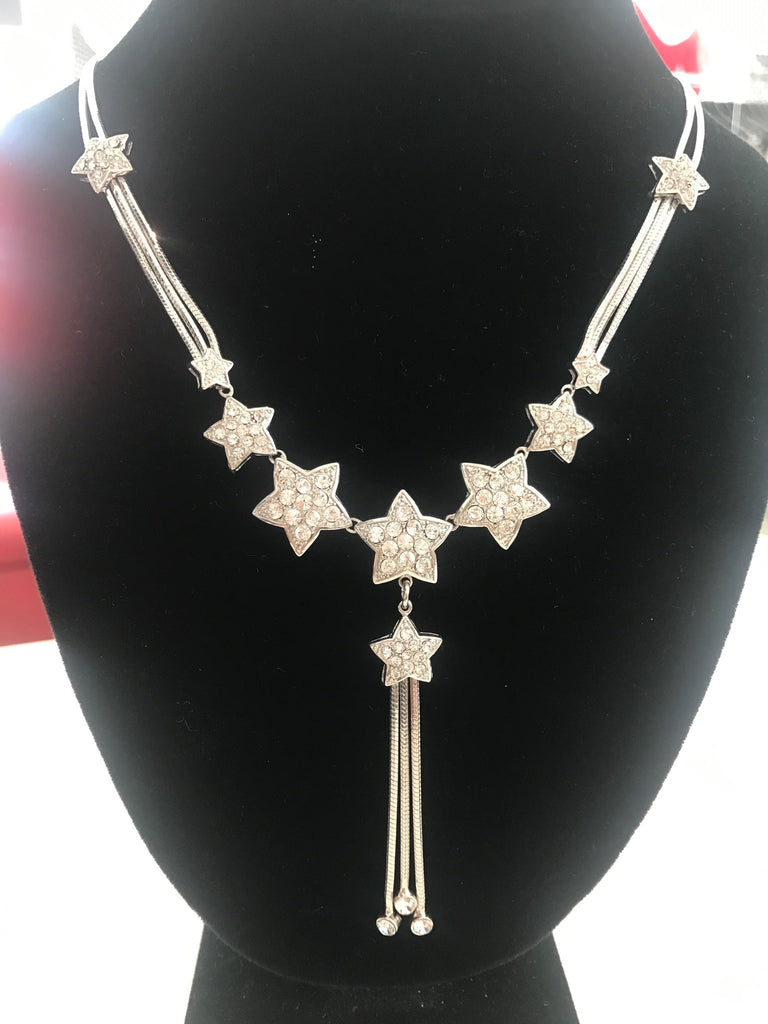 Goddess star necklace