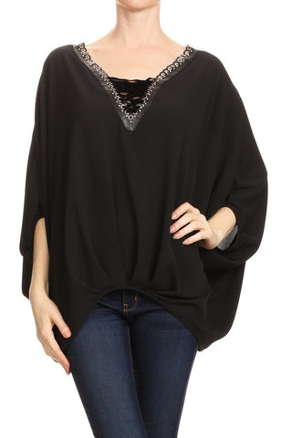 Ariella/ T1022-BWD black top