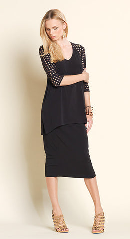 Clara-Sun Woo/T62 Cut-out Soft Knit Tunic Top