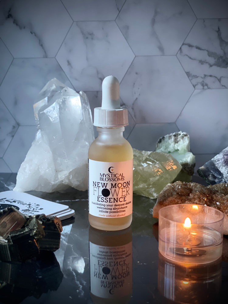 NEW MOON FLOWER ESSENCE