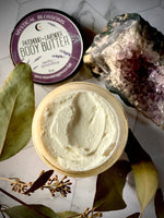 PATCHOULI AND LAVENDER BODY BUTTER
