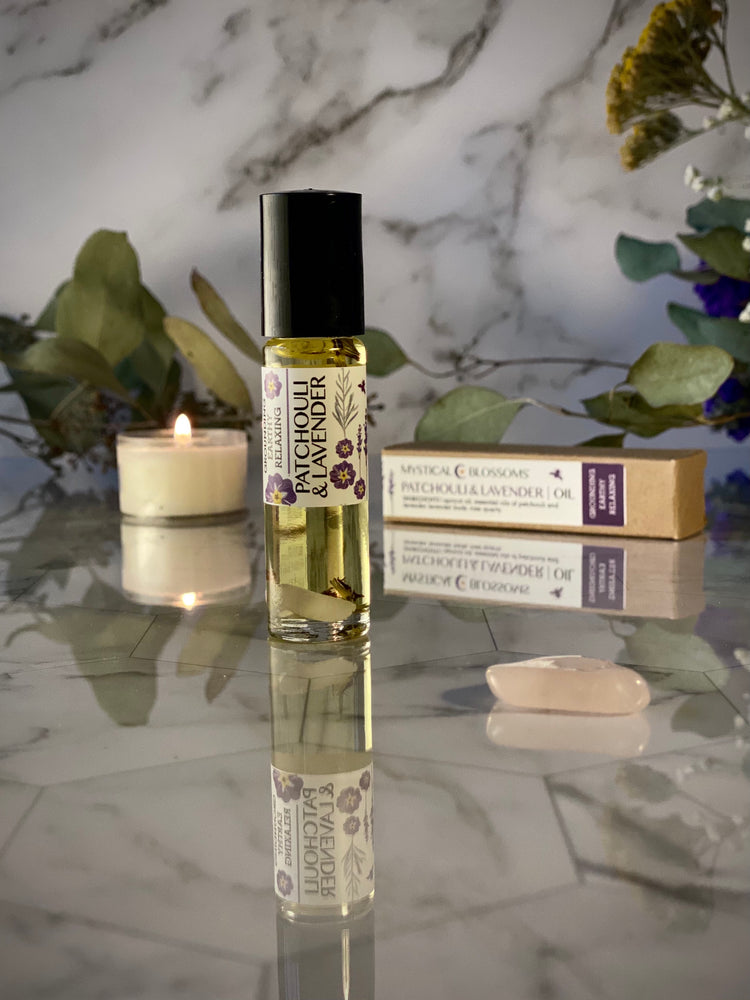 PATCHOULI AND LAVENDER ROLLER BALL