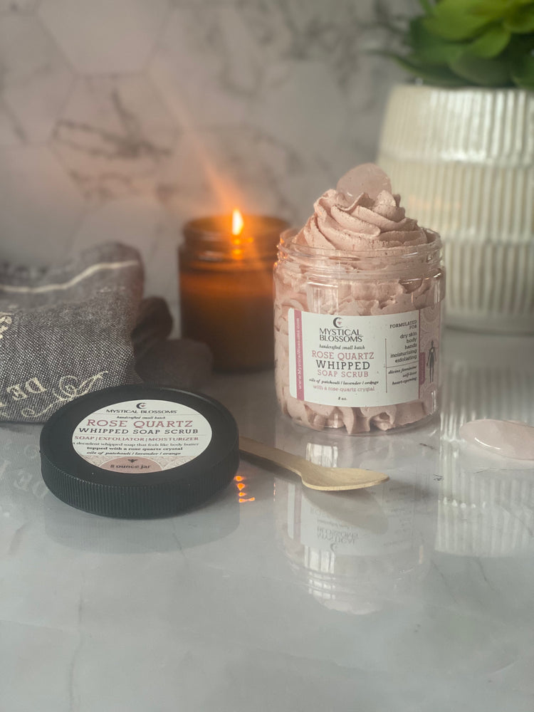 ROSE QUARTZ WHIPPED SOAP SCRUB