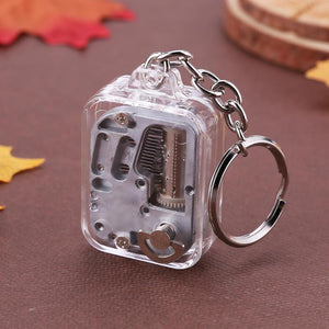 Mechanical Keychain Music Box