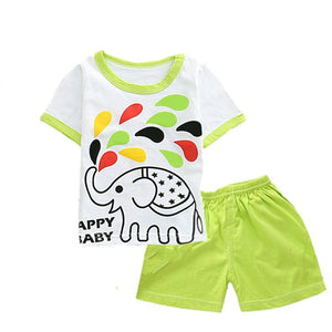 Baumwolle, Baby Unisex bequem Sommer Sets