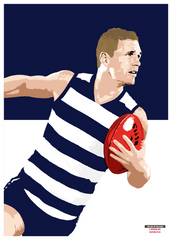 The Joel Selwood Poster