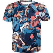 OF-HN1 Anime Clothing XS / T-Shirt All JoJo Characters Hoodie - JoJo's Bizarre Adventure Character Hoodie