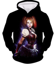 OtakuForm-OP Zip Up Hoodie Hoodie / XXS Amazing Harley Quinn Fan Art HD Awesome Black ] Zip Up Hoodie